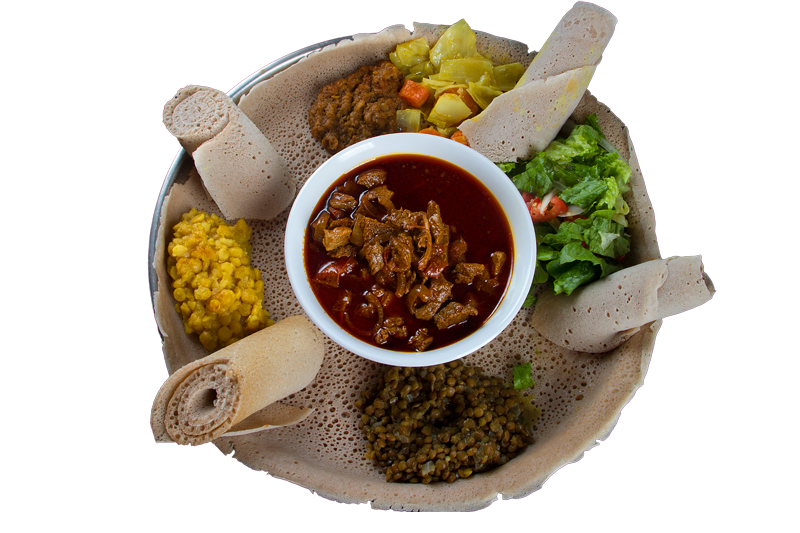 anjera,canjero, addis restaurant columbus, photo by socdaal